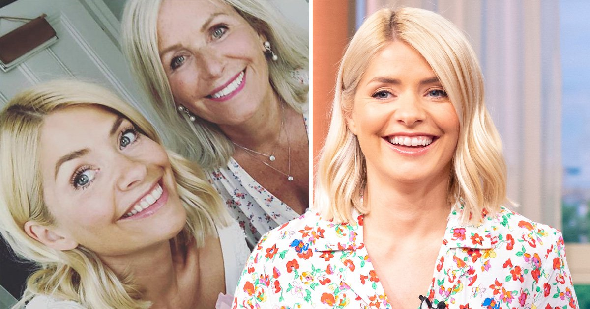 Holly Willoughby shares birthday selfie with lookalike mum and fans can't believe her age