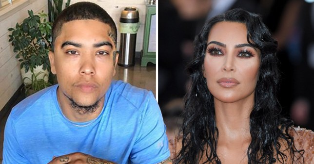 Paul Algarin and kim Kardashian