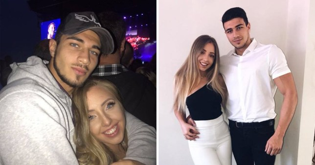 Love Island's Tommy Fury and ex girlfriend Millie
