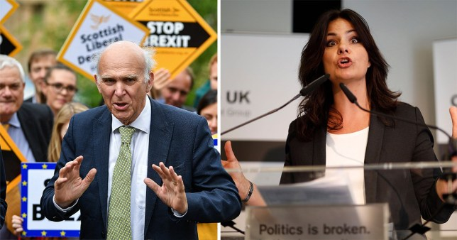 Heidi Allen, leader of Change UK, has suggested an alliance with the Lib Dems (Picture: Getty)