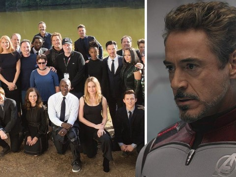 Robert Downey Jr misses Avengers: Endgame BTS family photo and our hearts are breaking all over again