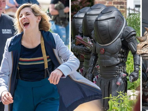 First look at Doctor Who series 12 as Jodie Whittaker films alongside The Judoon