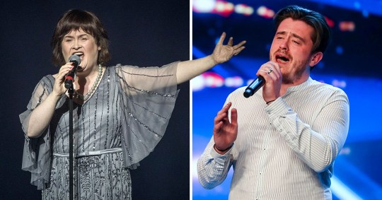 Susan Boyle and Brian Gilligan