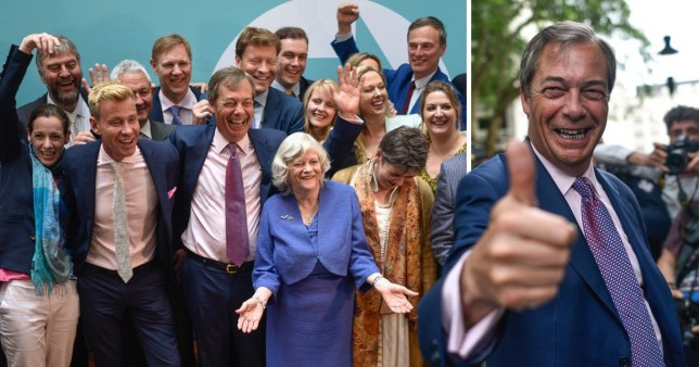 Nigel Farage's the Brexit Party ruled the UK elections with 31.7 per cent of the votes in the European elections 2019