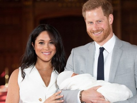 Harry and Meghan in 'sheer delight' at Archie's birth and 'can't keep eyes off him'