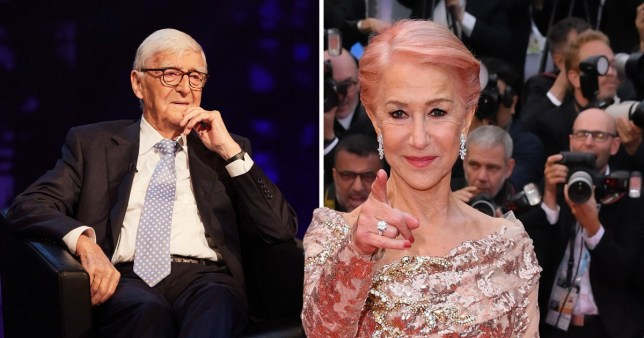 Michael Parkinson and Helen Mirren