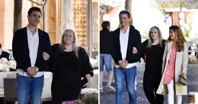 Rebel Wilson is friends with former Pop Idol star Darius Campbell and we don't know how but we're here for it