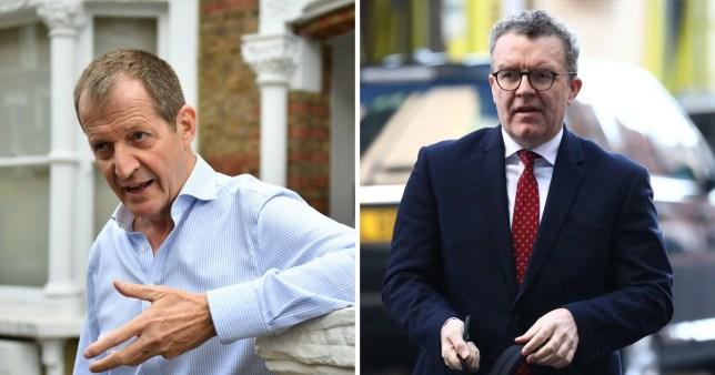 Labour deputy Tom Watson calls Alastair Campbell's expulsion 'spiteful'