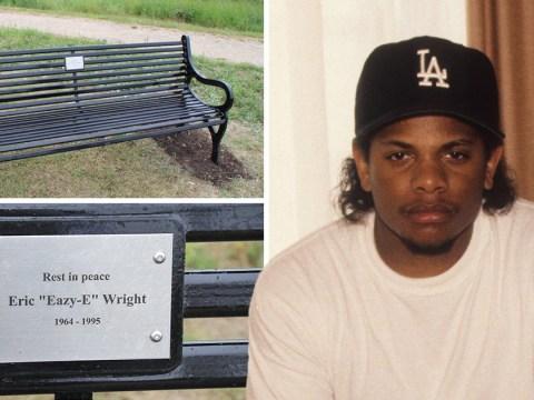 British town with no hip hop links unveils memorial bench to NWA rapper Eazy-E