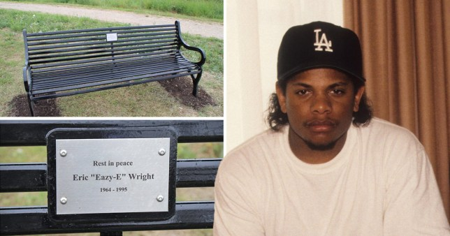British town Newhaven with no hip hop links unveils memorial bench to NWA rapper Eazy-E