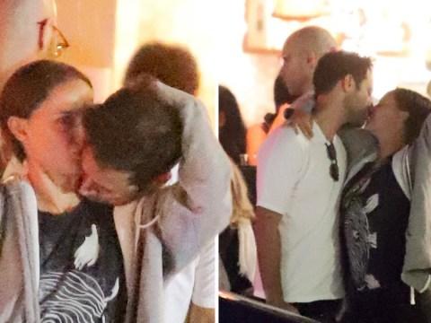 Natalie Portman passionately kisses husband Benjamin Millepied amid Moby dating drama