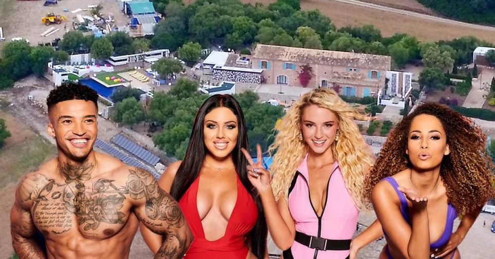 Love Island villa in Mallorca with the new contestants