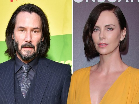 Fans want Keanu Reeves and Charlize Theron to start dating and we're here for it
