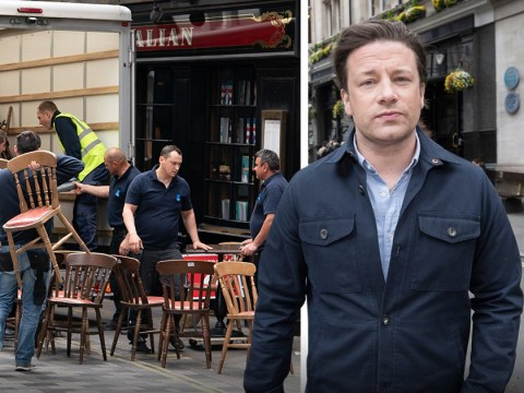 Jamie Oliver's flagship Italian restaurant gutted by bailiffs after going into administration