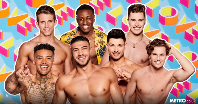 Love Island 2019 male contestants