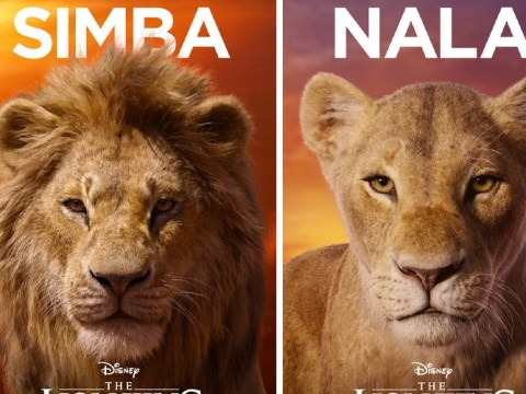 Disney reveals The Lion King character posters and Beyonce's Nala is very stunning