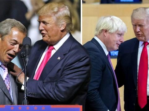 Donald Trump praises his 'friends' Nigel Farage and Boris Johnson ahead of UK trip