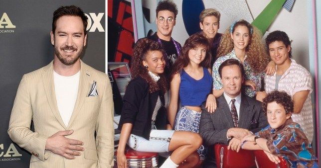 Mark Paul Gosselaar Saved By The Bell comp