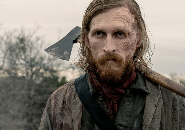Fear The Walking Dead's Dwight played by Austin Amelio