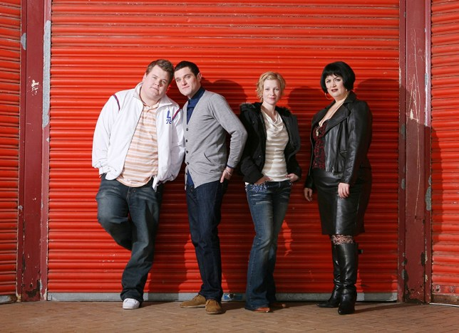 Gavin and Stacey cast shot