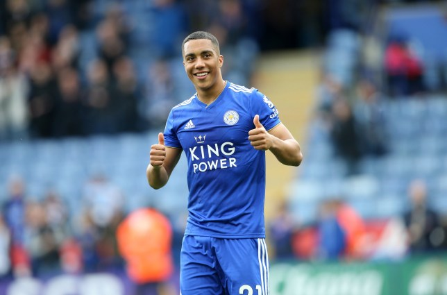 Youri Tielemans is being tracked by Manchester United and Spurs