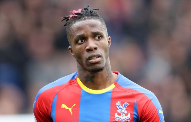 Wilfried Zaha is keen on joining Arsenal