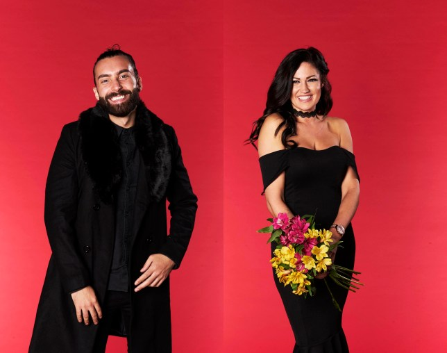 Jack and Safina from Channel 4's First Dates