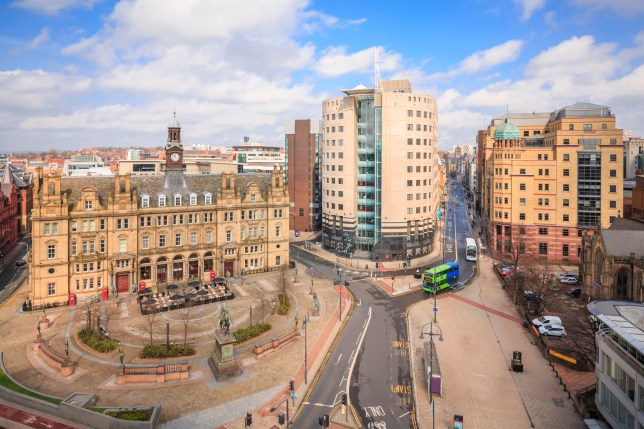 Leeds City Square - Leeds West Yorkshire.
