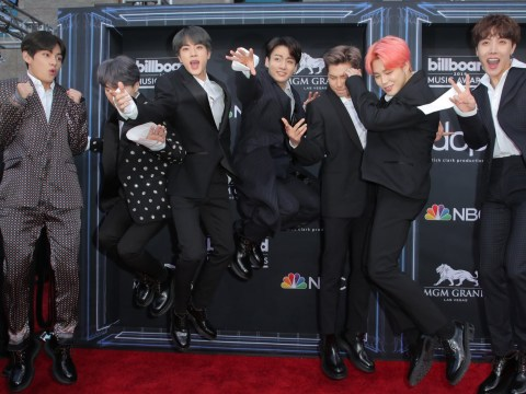BTS literally jump for joy after winning Billboard Music Awards 2019's top social artist for third year
