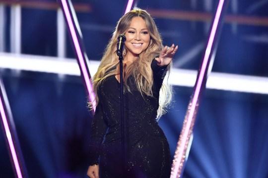 Mandatory Credit: Photo by Rob Latour/REX (10222625hh) Mariah Carey Billboard Music Awards, Show, MGM Grand Garden Arena, Las Vegas, USA - 01 May 2019