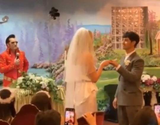 SOPHIE TURNER AND JOE JONAS GET MARRIED IN VEGAS Picture: Diplo