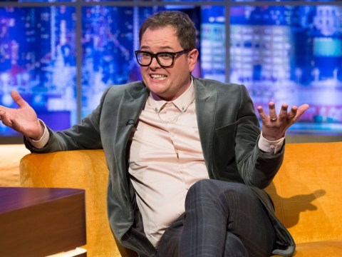 Alan Carr left 'terrified' after sleepwalking naked in public over fears about new show