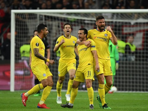 Chelsea set Europa League record after semi-final draw with Eintracht Frankfurt