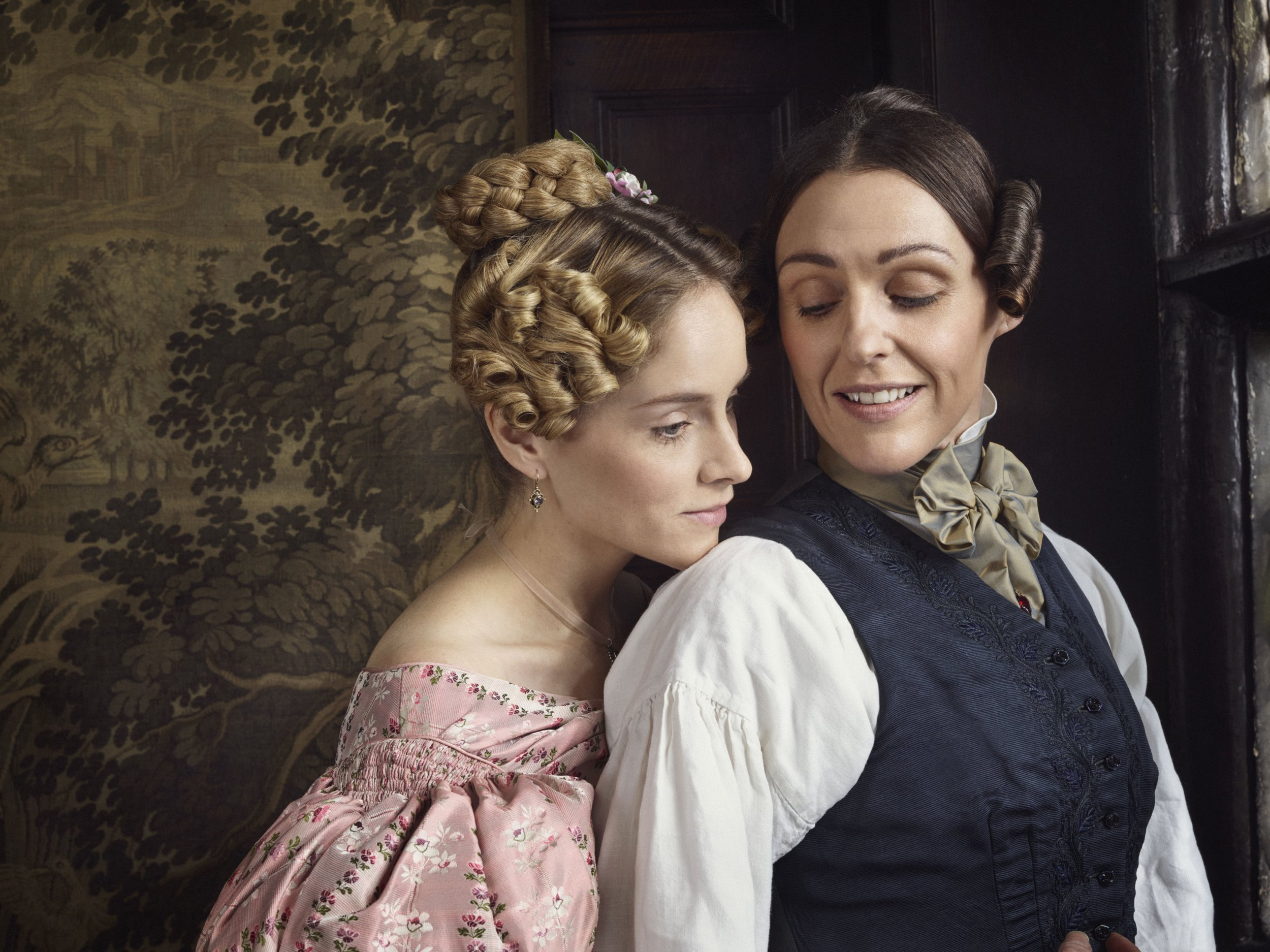 What time is Gentleman Jack on tonight and what is the Suranne Jones drama about?