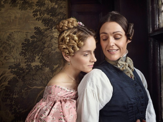 Suranne Jones as Anne Lister in Gentleman Jack