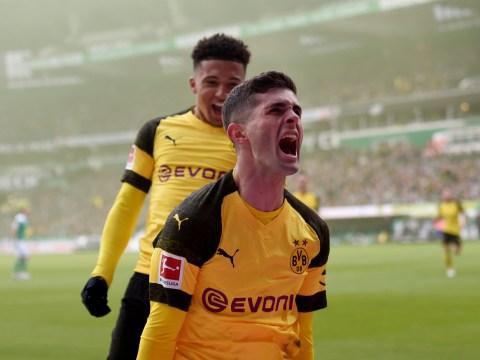 Eden Hazard in disguise? Christian Pulisic scores stunning solo goal for Borussia Dortmund
