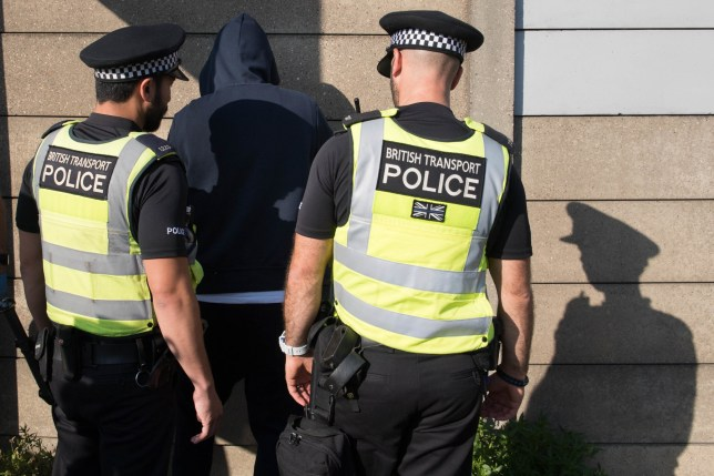 Data shows black people are more likely than white people to be stopped and searched under increased police powers (Picture: PA)