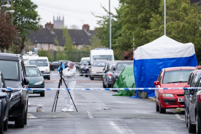 Alamy Live News. T7BR4H Bootle, Merseyside, UK. 6th May 2019. A murder investigation has been launched after a man was found in Monfa Road in the Bootle area of Sefton in Merseyside at around 1:55am on Monday, May 6, 2019 following reports of an altercation. The man was taken to hospital where he died. Credit: Christopher Middleton/Alamy Live News This is an Alamy Live News image and may not be part of your current Alamy deal . If you are unsure, please contact our sales team to check.