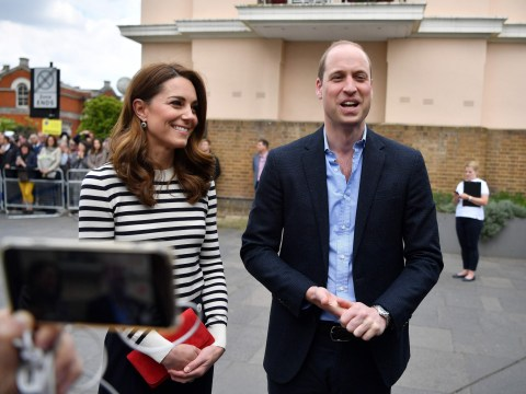 Prince William admits he hasn't visited his new nephew yet