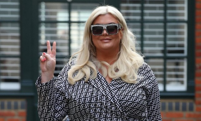 Gemma Collins films 'The Only Way is Essex' TV in May 2019