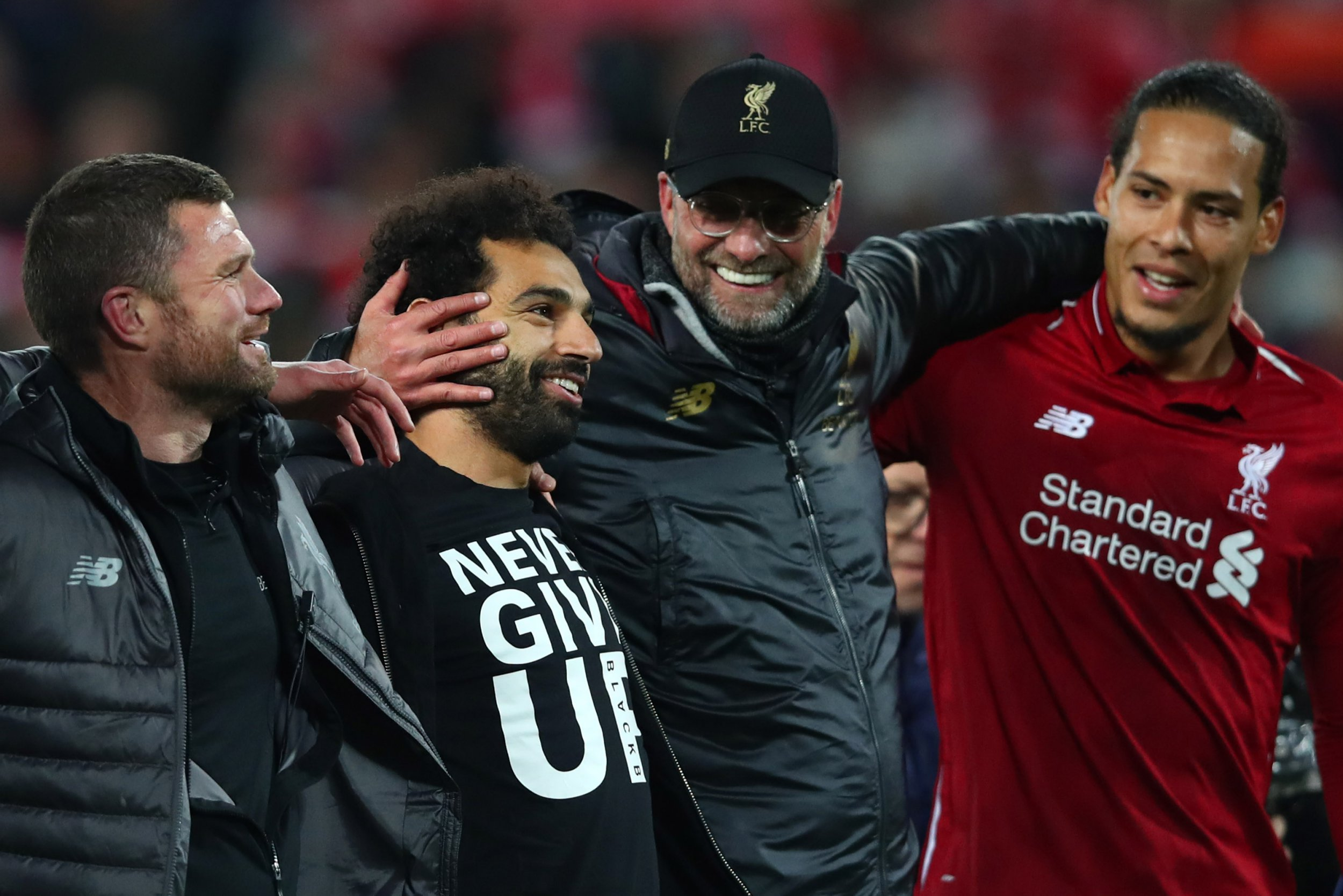 Mo Salah, Andrew Robertson and Roberto Firmino injury updates from Liverpool boss Jurgen Klopp