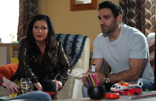 Kush Kazemi (Davood Ghadami) shocks Stacey Fowler (Lacey Turner) with his plans for custody of Arthur