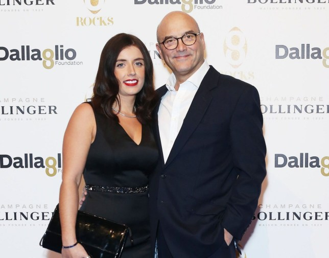 Mandatory Credit: Photo by Joe Pepler/REX/Shutterstock (7448785d) Gregg Wallace and wife Anne-Marie Dallaglio Foundation 8Rocks Annual Fundraising Gala Dinner, London, UK - 18 Nov 2016