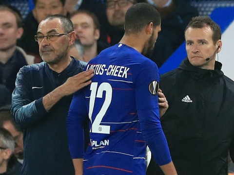 Maurizio Sarri hits back at Chelsea fans over controversial Ruben Loftus-Cheek substitution