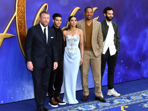 Will Smith pays tribute to Robin Williams as he walks magic carpet at Aladdin premiere