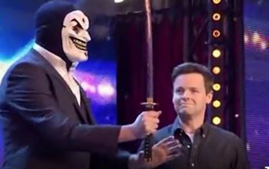 Declan Donnelly gets fright of his life on Britain's Got Talent