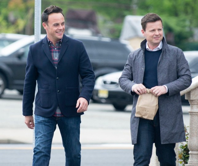 Ant and Dec film in New York ITV DNA journey