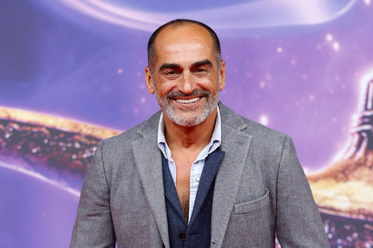 Navid Negahban at the Aladdin premiere