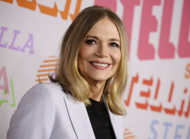 Peggy Lipton, who has died, attends the Stella McCartney presentation in Los Angeles