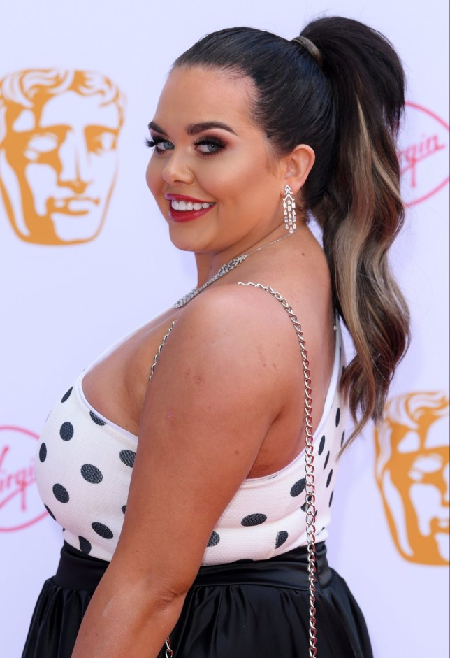 Mandatory Credit: Photo by David Fisher/BAFTA/REX (10234174l) Scarlett Moffatt British Academy Television Awards, Arrivals, Royal Festival Hall, London, UK - 12 May 2019